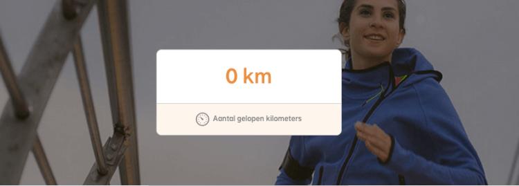 Kilometers tegen kanker
