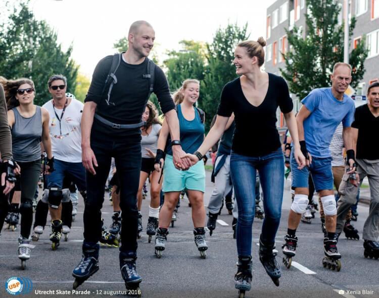 utrecht skate parade